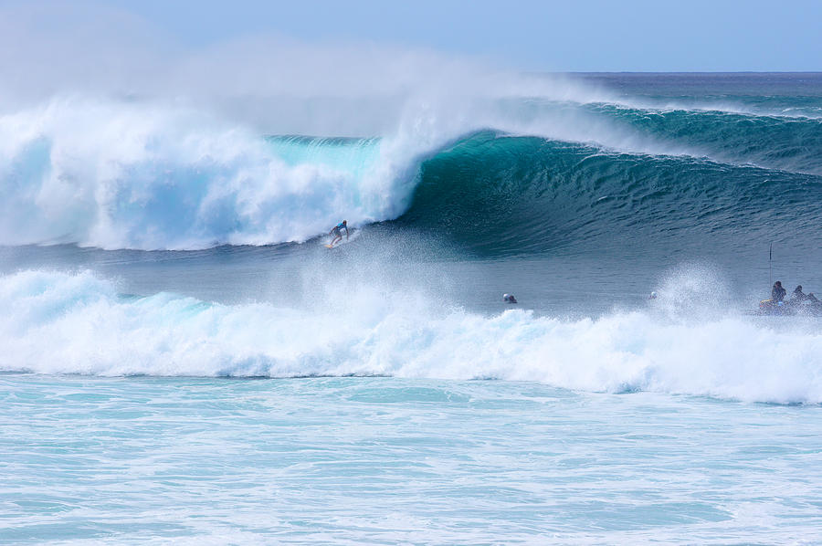 Surfing Photograph - Big Pipeline Pro by Kevin Smith