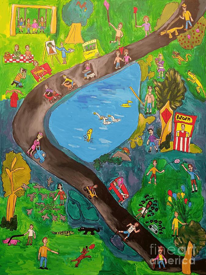 Big Playground by Brandon Drucker