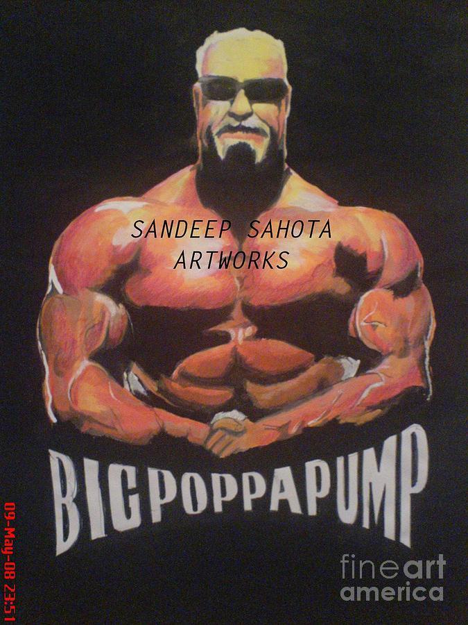 Army Painting - Big Poppa Pump by Sandeep Kumar Sahota