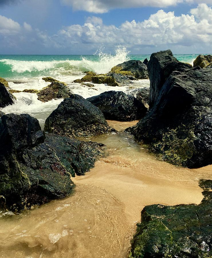 Big Rock Beach by Gary Greer