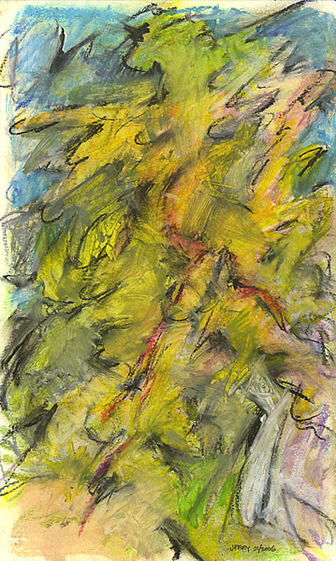 Abstract Painting - Big Shot by Jerry Engelbach