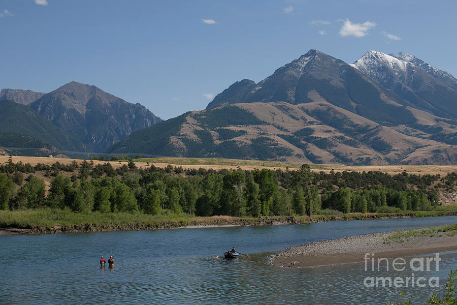 Big Sky Country - Montana by Julian Wicksteed
