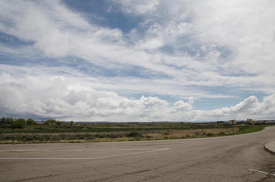 Big Sky in Wyoming by Erik Burg