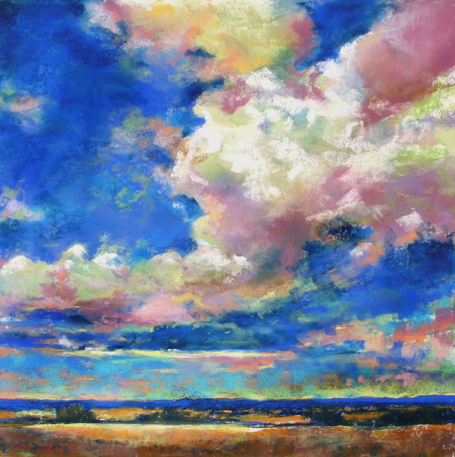 Sky Painting - Big Sky by James Roybal