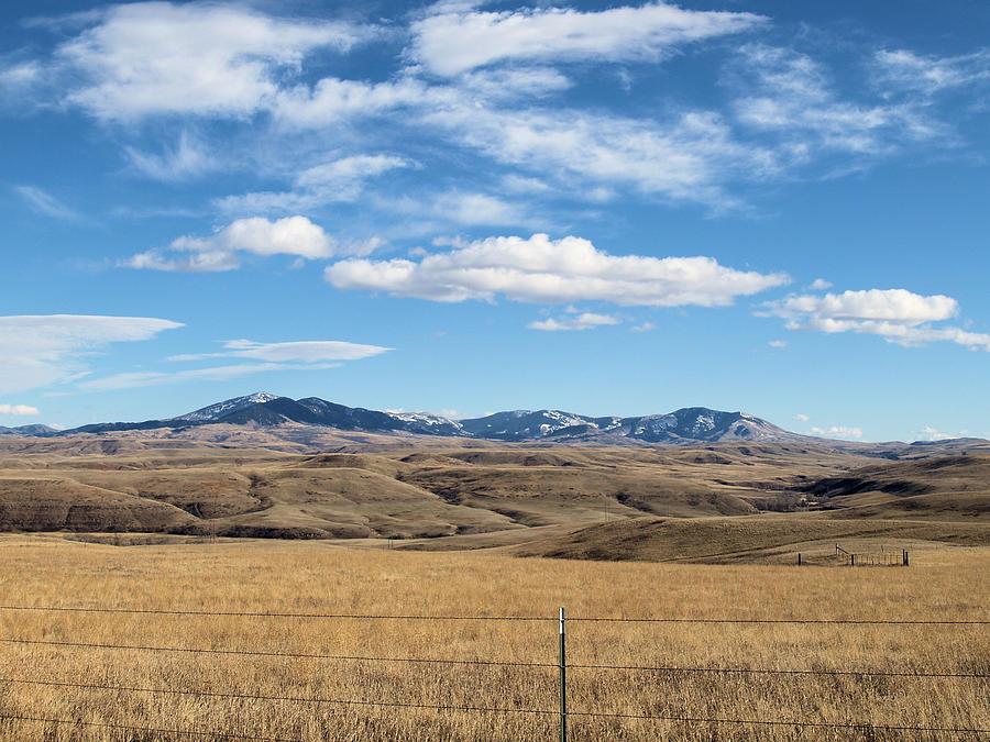 Montana Photograph - Big Sky Montana by Jessica Yudis