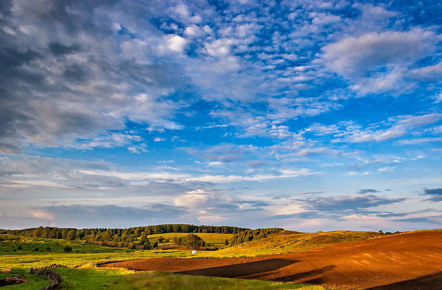 Farm Photograph - Big Sky Ontario by Steve Harrington