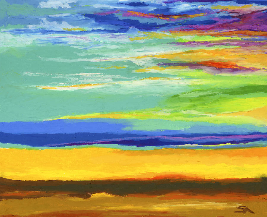Landscape Painting - Big Sky by Stephen Anderson