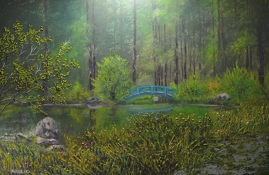 Big Springs Gardens Painting