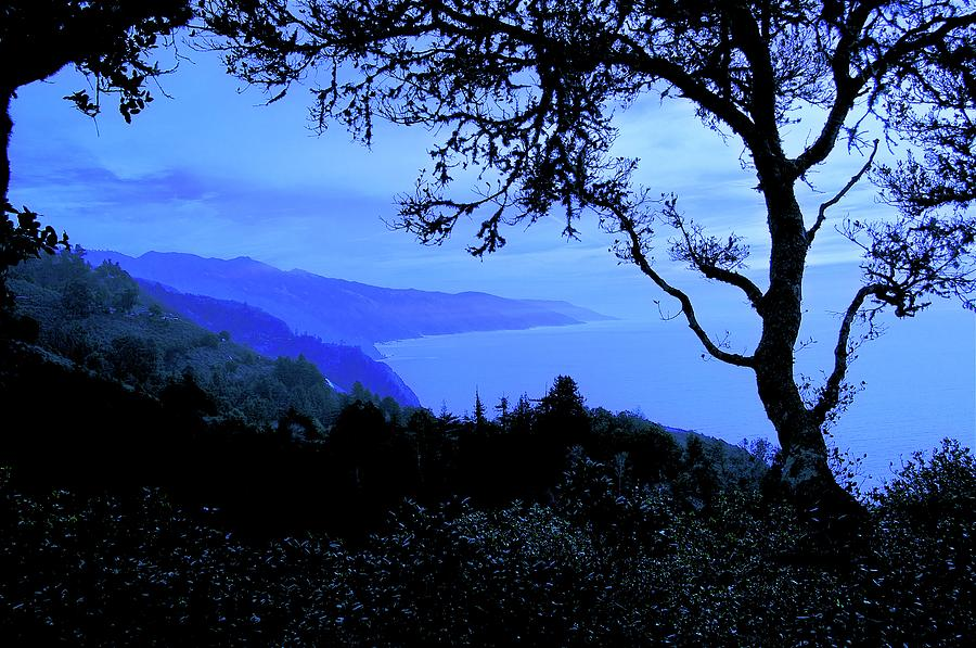Nature Photograph - Big Sur Blue, California by Flying Z Photography by Zayne Diamond