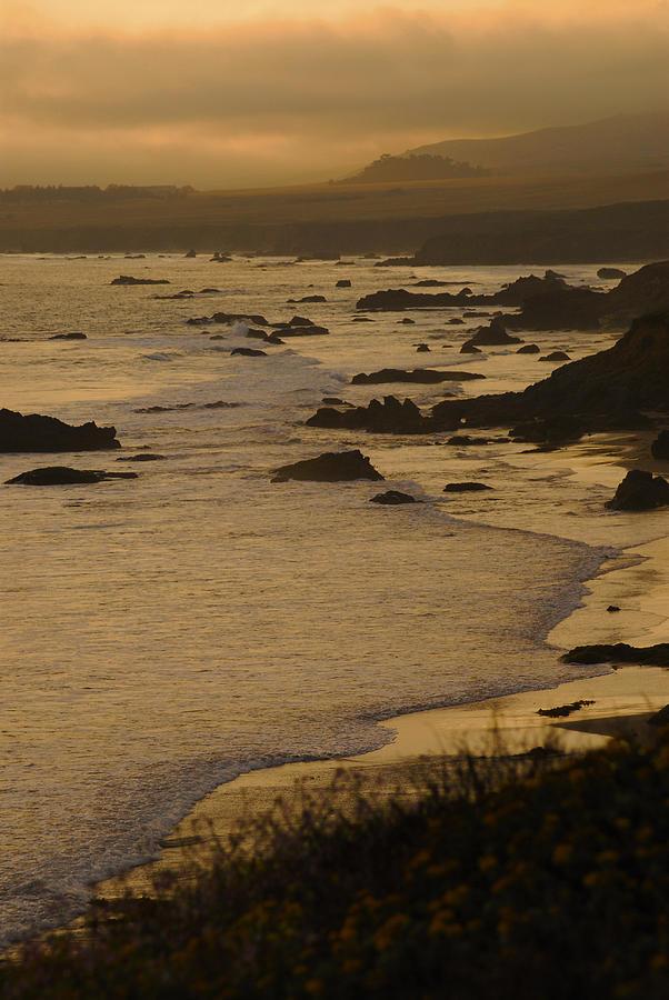 Big Sur Photograph - Big Sur Coastline by Don Wolf