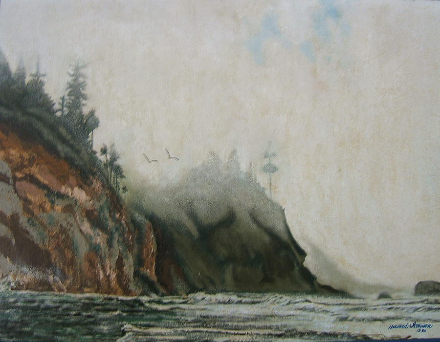 Big Sur Painting by Howard Stroman