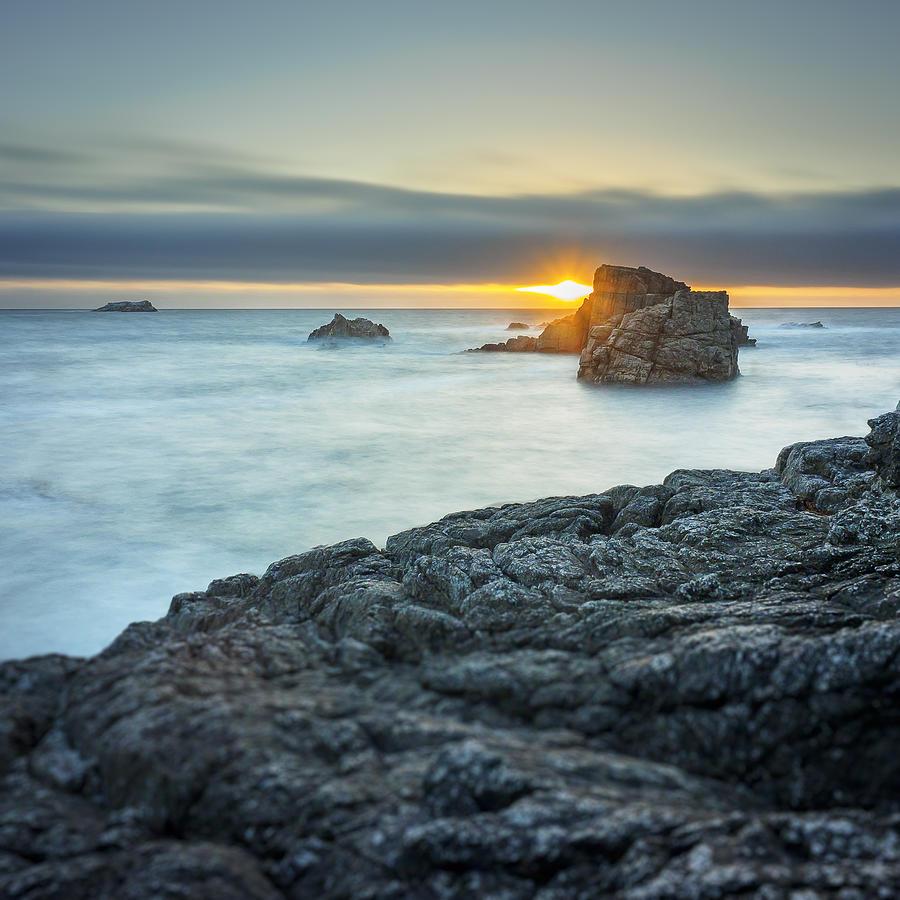 Landscape Photograph - Big Sur Seascape by Steve Spiliotopoulos