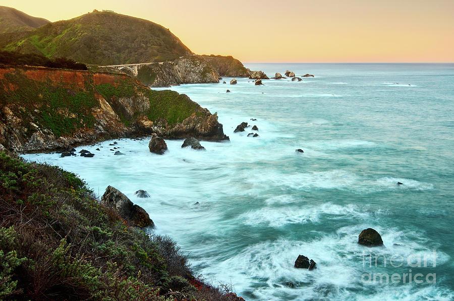 Big Sur Photograph - Big Sur Sunrise by Jamie Pham