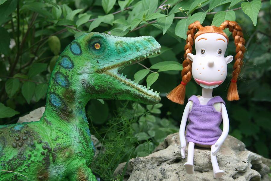Toy Photograph - Big Talker by Susie DeZarn