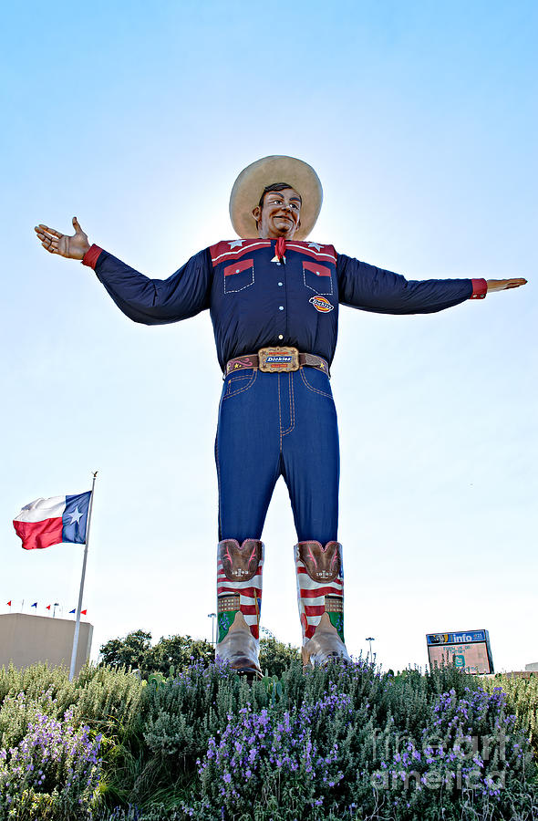 Ambassador Photograph - Big Tex by Charles Dobbs