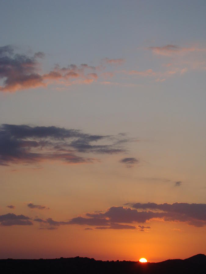 Sunset Photograph - Big Texas Sky Three by Ana Villaronga