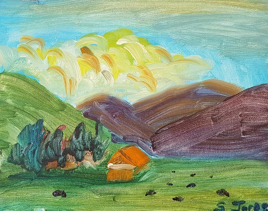 Landscape Painting - Big Valley by Steve Jorde