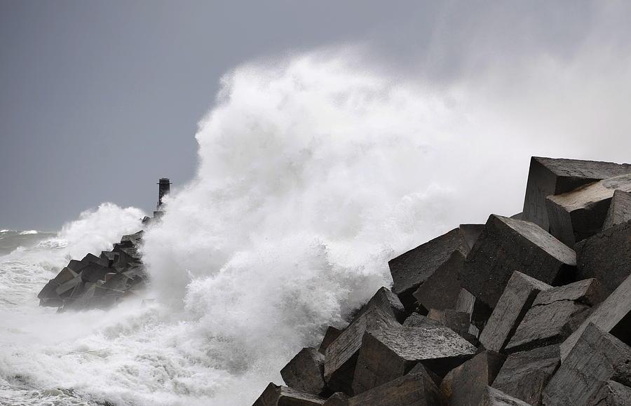 Spain Photograph - Big Waves II by Rafa Rivas