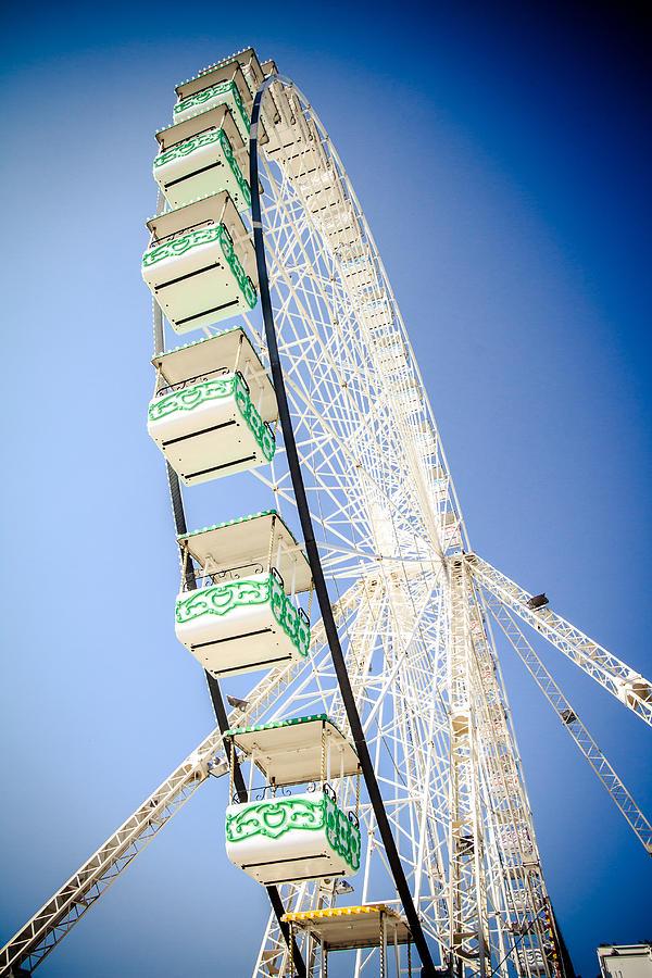 Amusement Photograph - Big Wheel by Jason Smith
