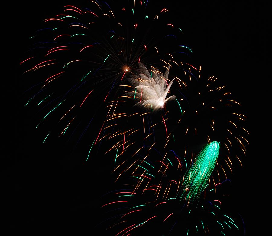 Fireworks Photograph - Big Wow by Donna Shahan