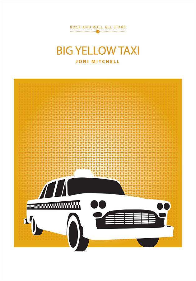 Big Yellow Taxi -- Joni Michel by David Davies