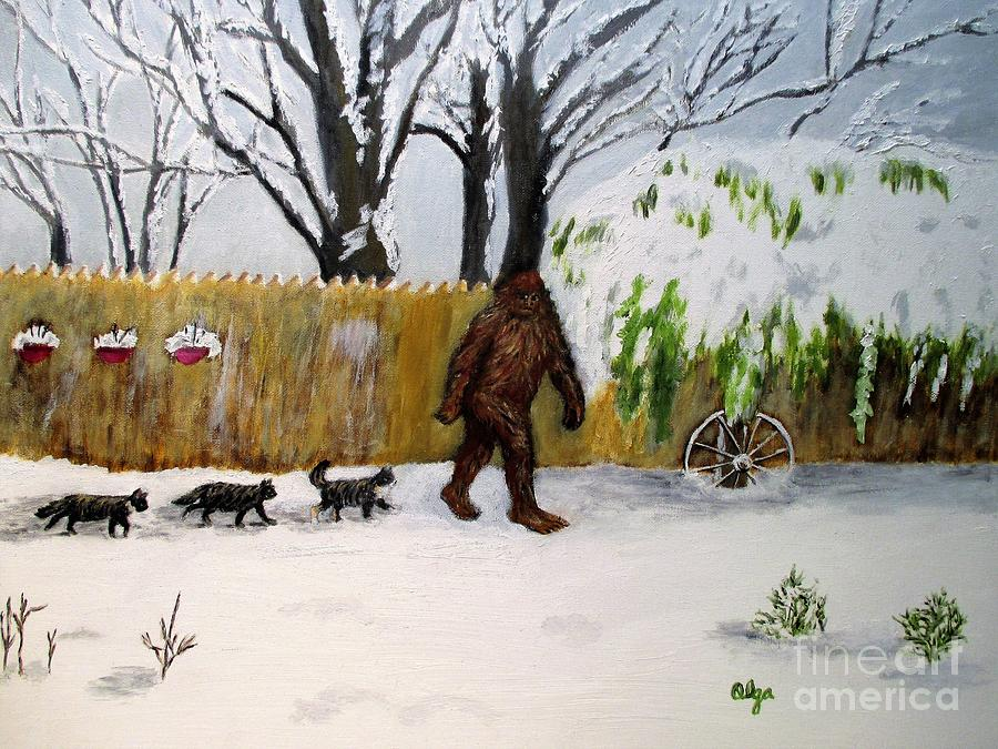 Bigfoot and His Friends by Olga Silverman
