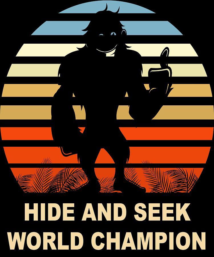 38b461d8 Bigfoot Digital Art - Bigfoot Hide And Seek World Champion by Art Deco