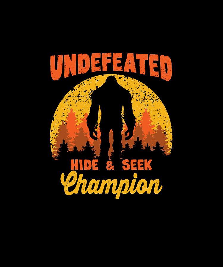 6d752b95 Bigfoot. Undefeated Hide & Seek Champion
