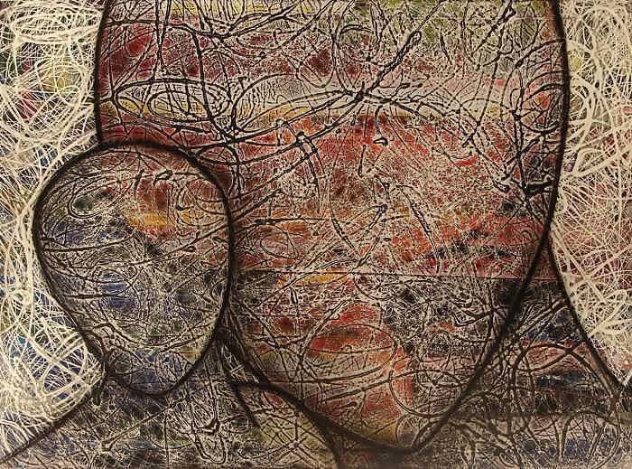 Abstract Painting - Bigger Than Life by John Edward Marin