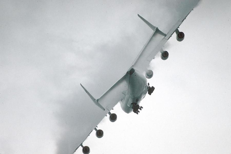 Airplane Photograph - Biggest Airplane In The World Antonov An-225 Mriya  by Brian Lockett