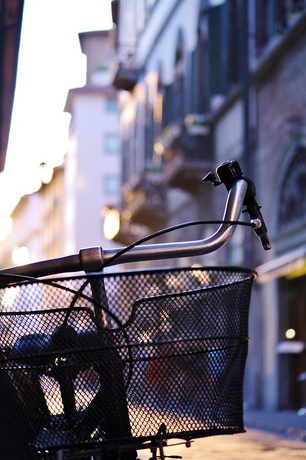 Biking Photograph - Bike Along The Arno by Yourstrulyjuli Photography and Art