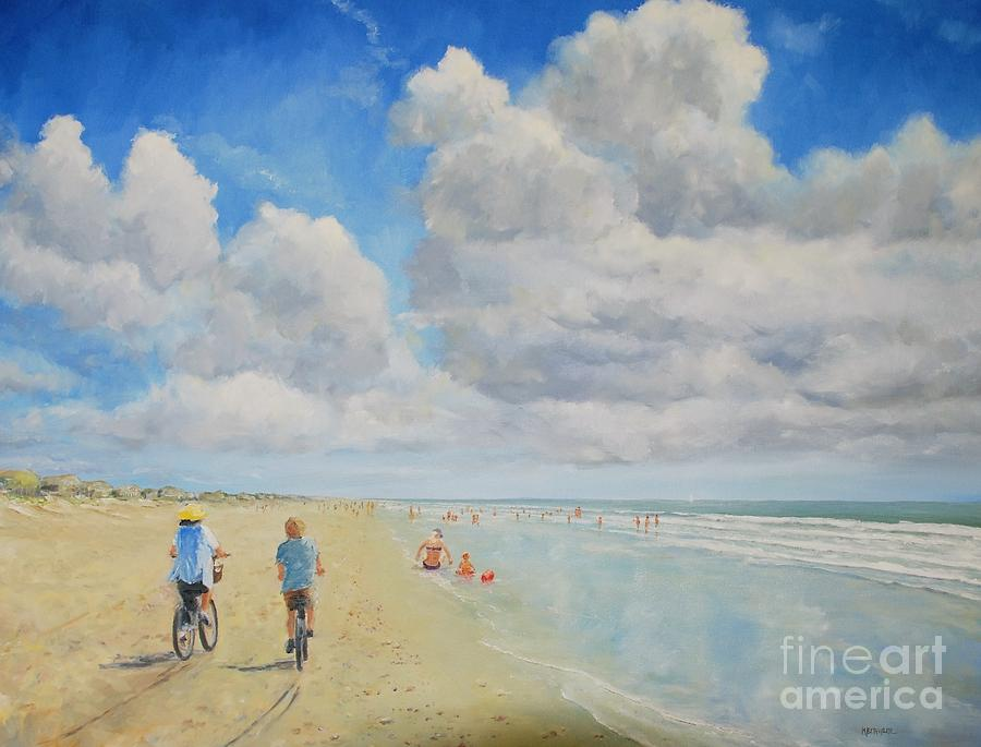 Bike Beach by Keith Wilkie