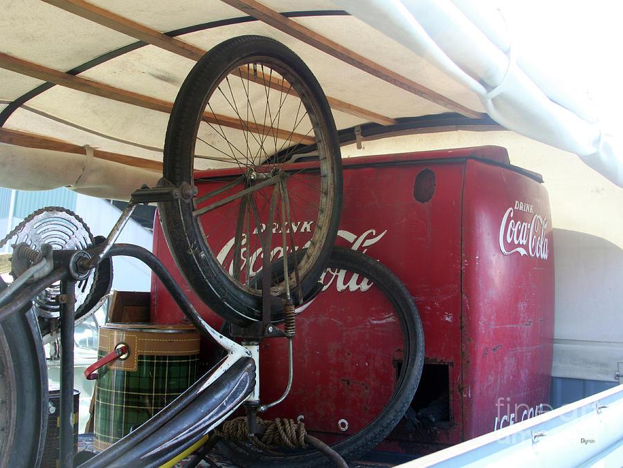 Coca-cola Photograph - Bike Cola  by Steven Digman
