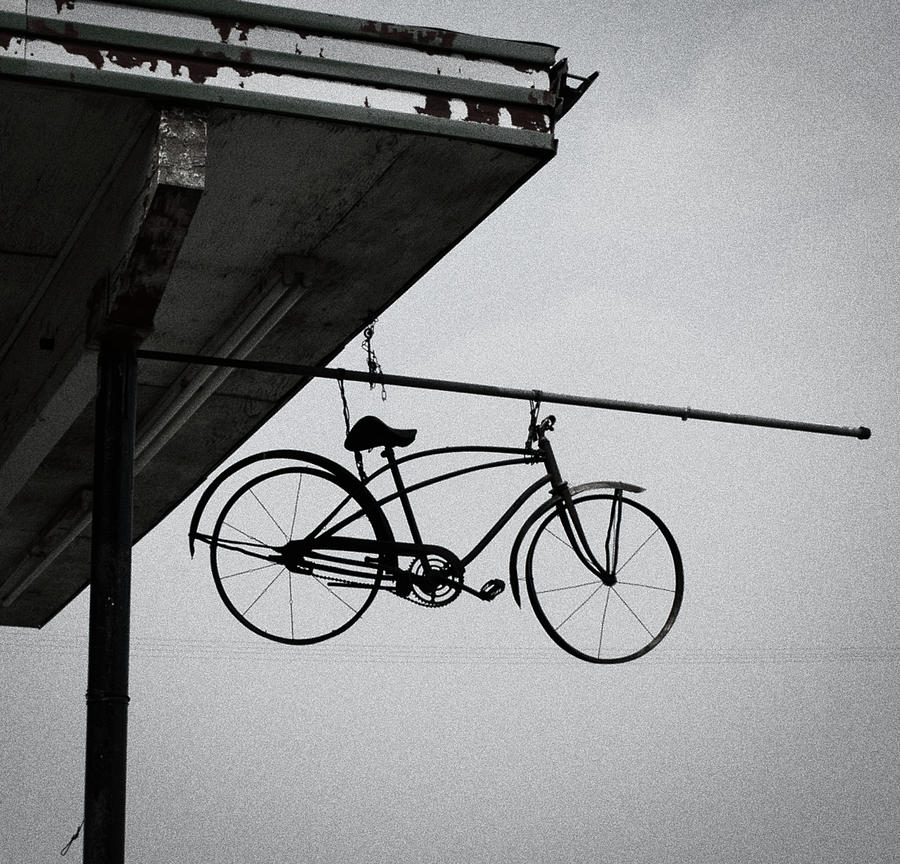 Nevada Photograph - Bike In The Air by Scotty Baby