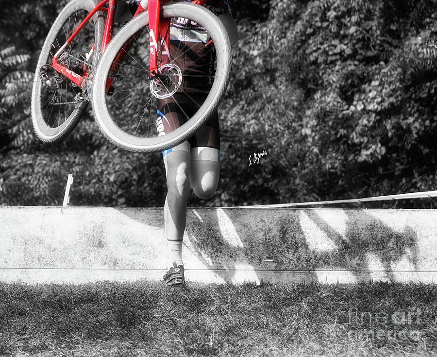 Cycling Photograph - Bike Lifting  by Steven Digman