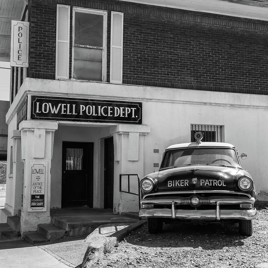 Lowell Biker Patrol Photograph by Jurgen Lorenzen