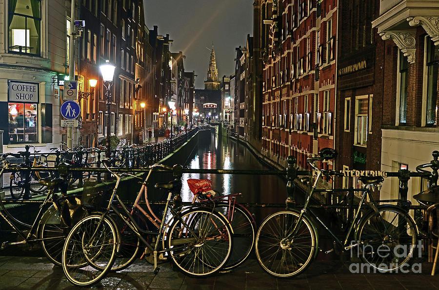 Amsterdam Bikes and Kolkswaterkering - Amsterdam by Carlos Alkmin