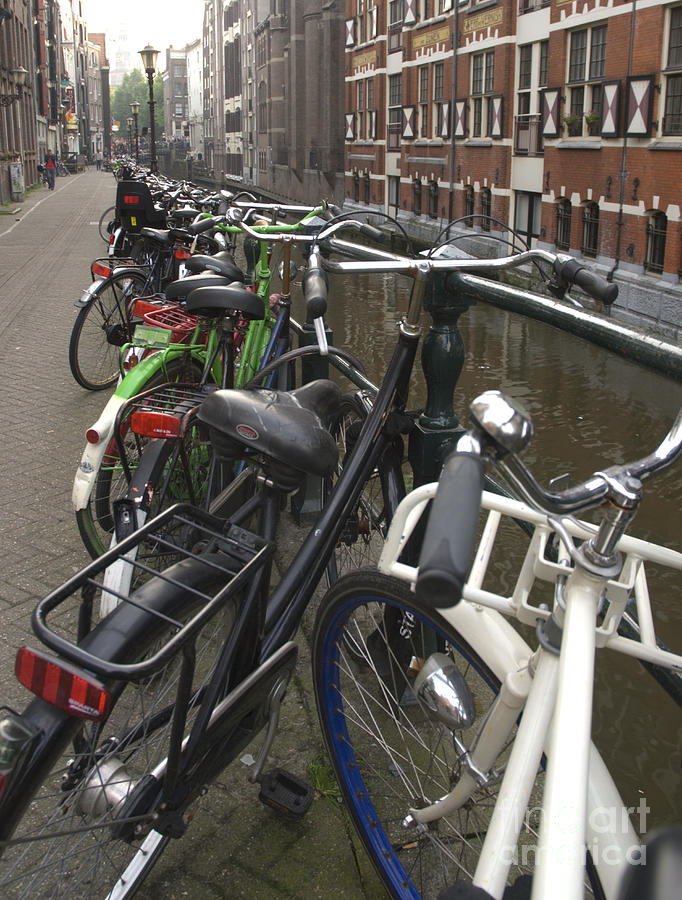 Bikes Photograph - Bikes As Far As The Eye Can See by Andy Smy
