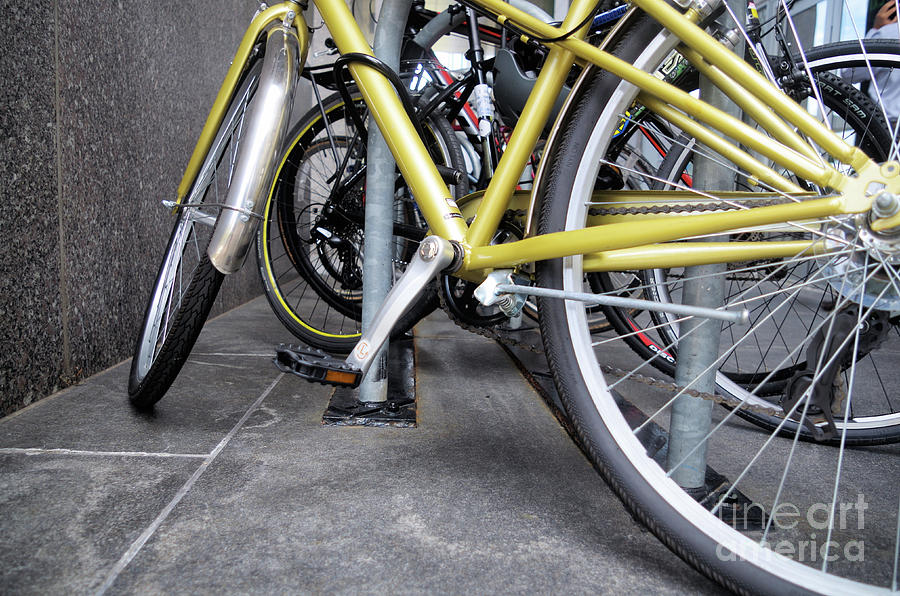 Bikes P O V Photograph