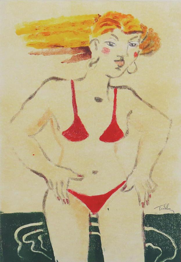 Bikini Babe Two by Thomas Tribby