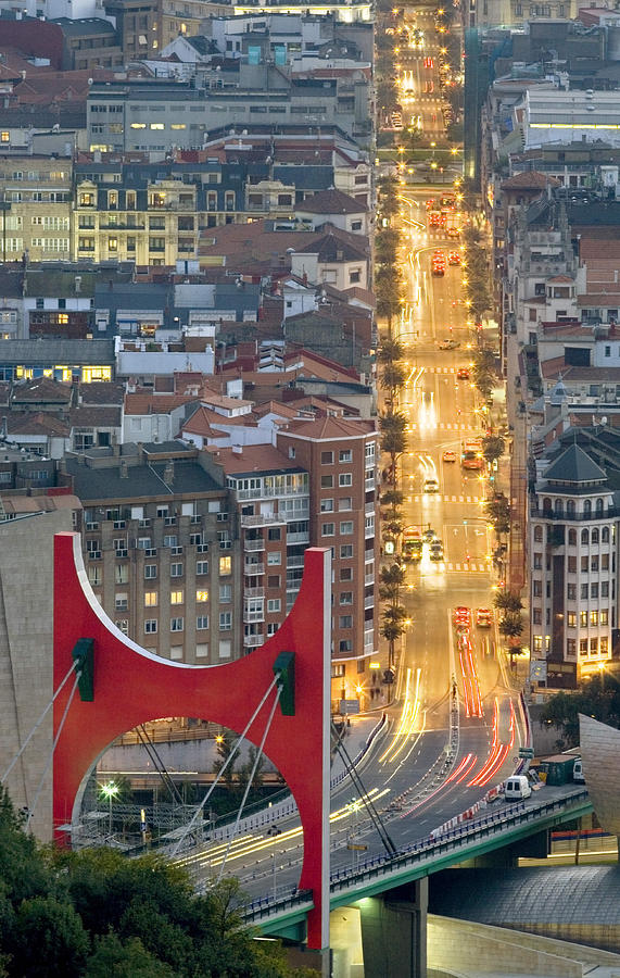 Spain Photograph - Bilbao Street by Rafa Rivas
