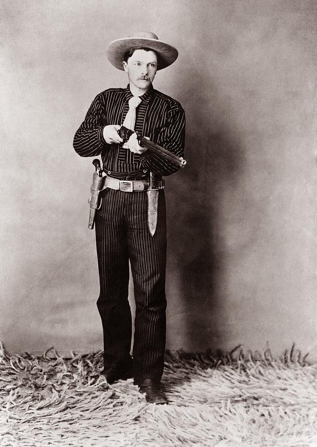 History Photograph - Bill Bennett, Wild West Detective by Everett