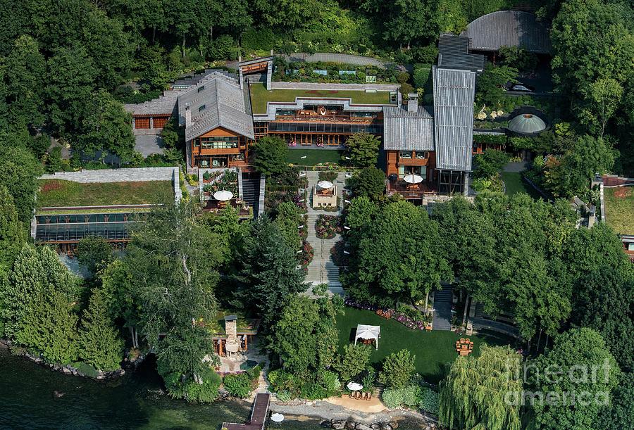 Bill Gates Luxury Home Xanadu 2.0 Photograph by David ...