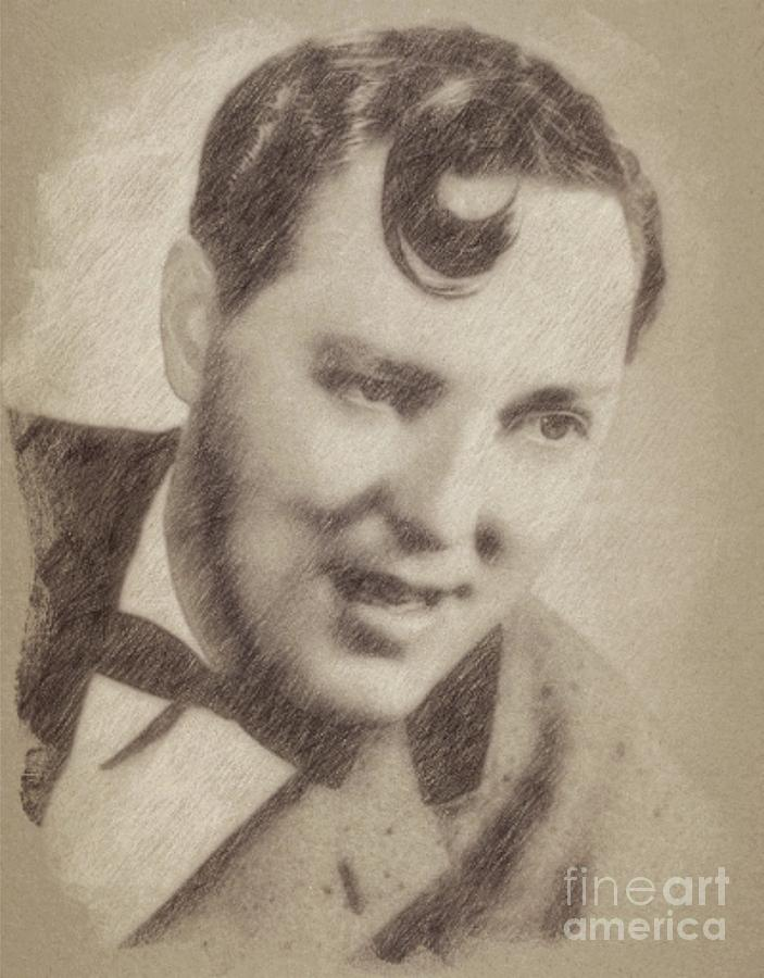 Hollywood Drawing - Bill Haley, Music Legend By John Springfield by Esoterica Art Agency