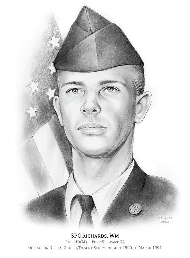 Bill Richards Drawing