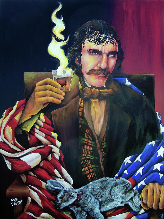 Bill The Butcher Painting - Bill the Butcher by Michael Vanderhoof