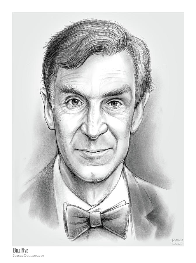 Bill The Science Guy Drawing