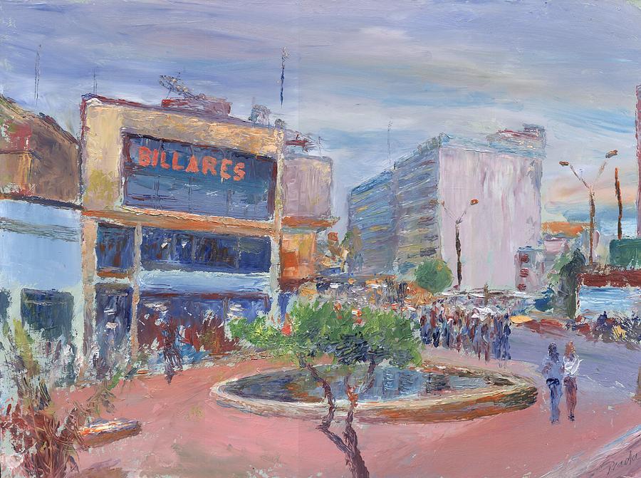 Oil Painting - Billares by Horacio Prada