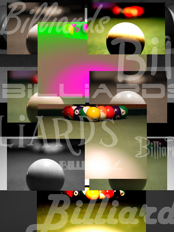 Andre Photograph - Billiards by Andre  Persun
