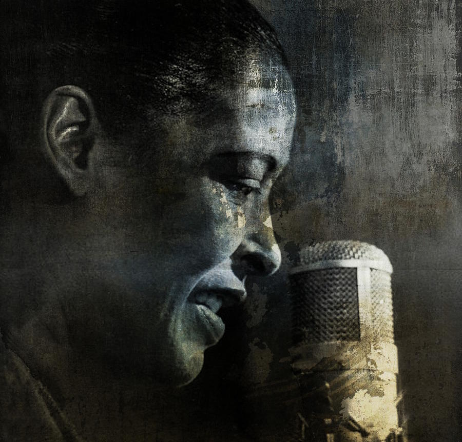 Billie Holiday Digital Art - Billie Holiday - All That Jazz by Paul Lovering